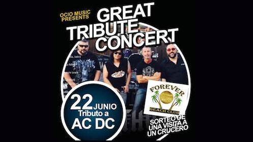 Entrada para el concierto tributo AC/DC