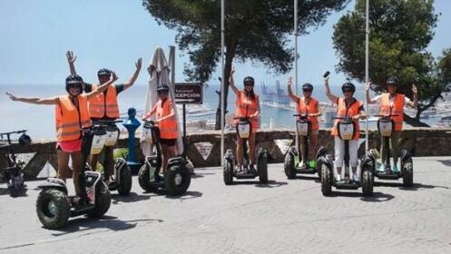 Tour por Málaga de 1 hora en Segway para 2 personas