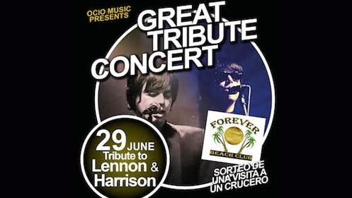 Entrada para el concierto tributo a Lennon, Harrison & Paul Mc Cartney