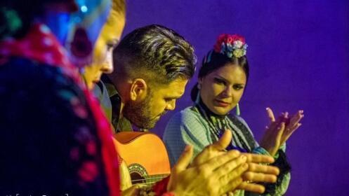 Noche flamenca en el tablao Los Amayas