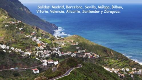 Tenerife: 3, 5 o 7 noches + vuelo