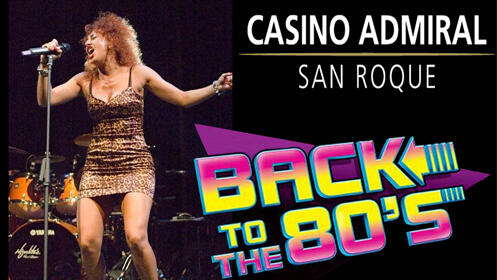 Tributo a Tina Turner y George Michael – Casino Admiral San Roque 29/6