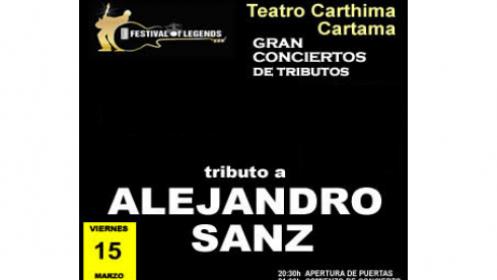 Entrada para el concierto tributo a Alejandro Sanz