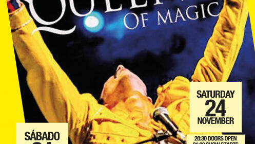 Entrada para el concierto tributo a Queen en Cártama