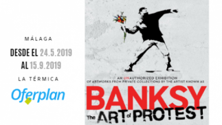 Entrada general exposición 'Banksy: the art of protest'