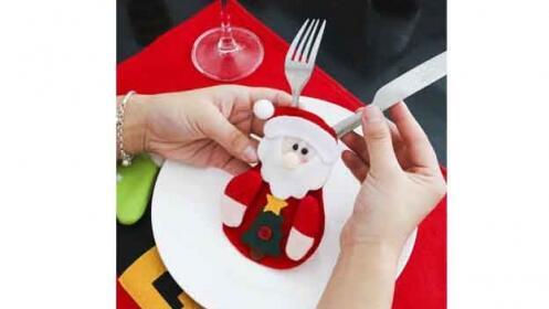 Pack de Cubretenedores con motivos navideños