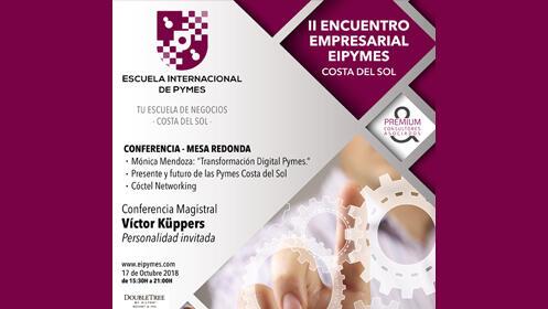 Entradas II Encuentro empresarial Eipyme, con Victor Küppers y Mónica Mendoza