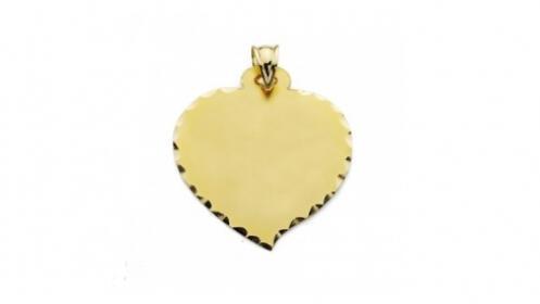 Colgante de oro 18k corazón