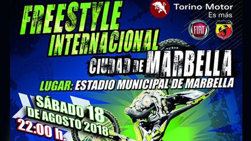 Entrada para el espectáculo FreeStyle Internacional Ciudad de Marbella