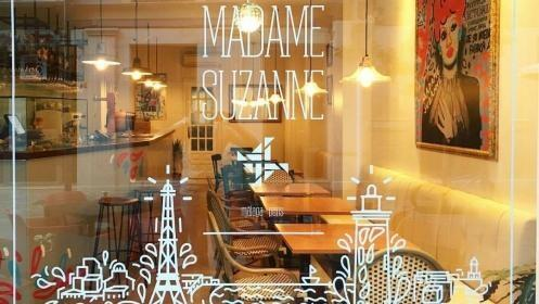 Menú para dos en Madame Suzanne + 2 invitaciones a Concerto Málaga