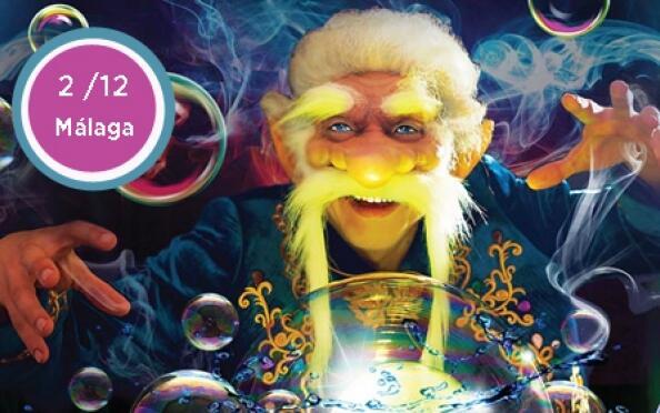 Entrada para el show Magia de Burbujas en Málaga