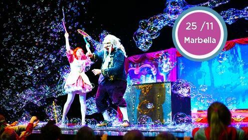 Entrada para el show Magia de Burbujas en Marbella