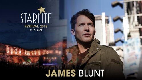 Dos entradas para James Blunt en Starlite y Menú en la Pesquera