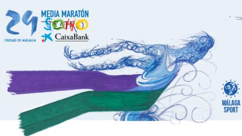 Dorsal para la Media Maratón 2019