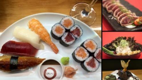 Menú de lujo en Okami para 2 personas + invitaciones para el Weekend Beach