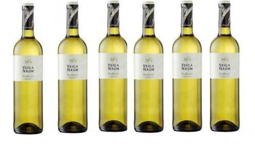 Pack de 6 botellas albariño Veiga Naúm