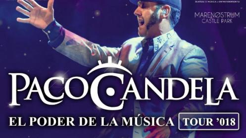 Entrada para el concierto de Paco Candela