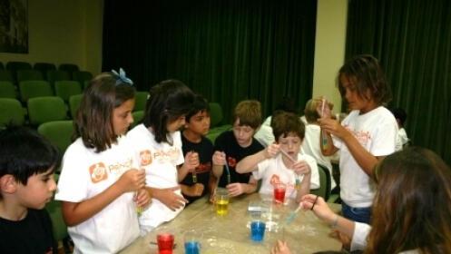 Campamento Verano Principia: talleres ciencia y tecnología