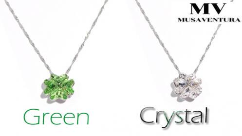 Gargantillas con cristales de Swarovski  Musaventura