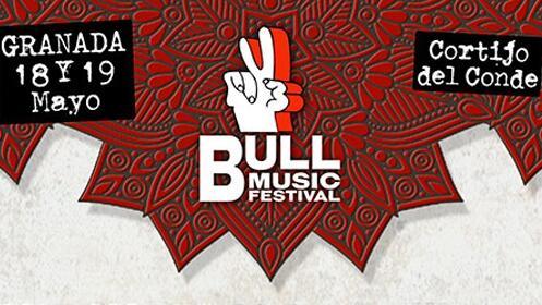 Altavoz bluetooth + abono Bull Music Festival Granada, 18 y 19 mayo