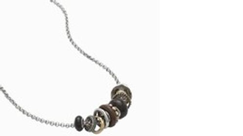 Regalos para ella: collar Fossil de acero inoxidable