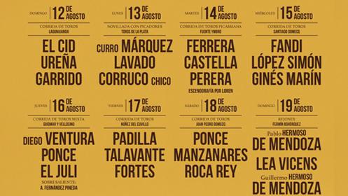 Entrada para la Feria Taurina de Málaga 2018: 17 de agosto. Tendido Bajo 3. Sol y Sombra. Fila 3