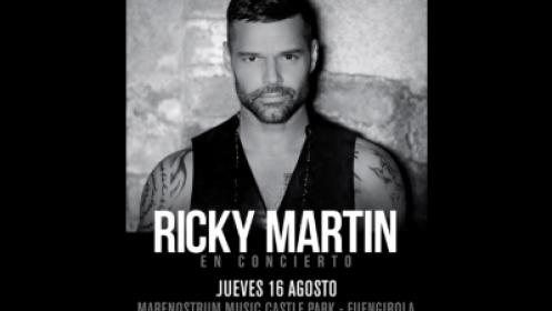 Dos entradas para Ricky Martin y Menú en La Pesquera