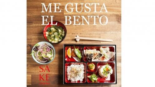 Menú mediodía: Bento completo japonés para una persona