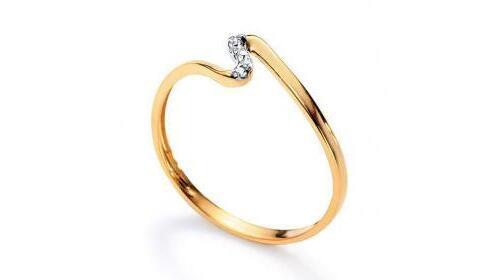 Regalos para ella: anillo de oro para mujer